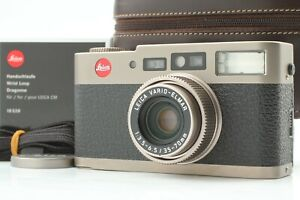 """""""Top Mint+++ in Case"""" Leica CM Zoom 35-70mm Point & Shoot Compact Camera JAPAN"""