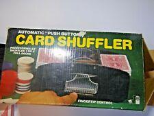 Jobar Automatic 2-Deck Card Shuffler In Box w/ 2 decks of cards