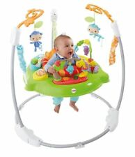 Jumperoo Baby Bouncer Fisher- Roaring Rainforest Jungle Chm91