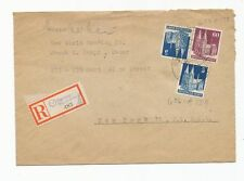 34 - GERMANY 1948 Registered Cover To New York, Mailed To The New World Trading