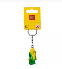Lego 853794 Corn Cob Guy Key Chain Minifigure Key Ring, Bag or Backpack Charm