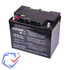 Batterie gel 12V 75Ah VIPOW  bateaux, caravanes, caisse, motos, quad véhicule