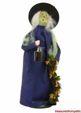 Byers Choice Carolers ~ WITCH WITH LANTERN #7152 Halloween 2015 NEW Retired