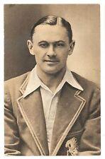 1935 Test Match Favourites George Allen Middlesex England Postcard