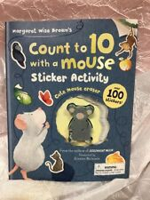 Margaret Wise Brown Count To 10 With A Mouse Child Sticker Activity Book Eraser