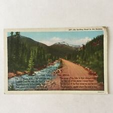 Vagabond Lover Road Rockies Call of the West Unposted Postcard