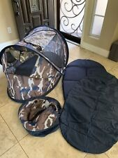 KidCo Baby Pea Pod Infant/Child Screened in Travel Bed/Tent Camoflauge