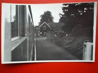 PHOTO  LLANGYNLLO RAILWAY STATION 31/8/82 IS A COUNTRYSIDE STOP IN POWYS