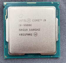 New listing Intel Core i9-9900K Socket 1151 8 Core Desktop Cpu Srg19 3.60Ghz