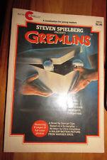 GREMLINS 1984 Paperback Book W/ Movie Tie-In Photos by George Gipe Avon Camelot