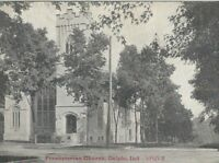 CE-335 IN, Delphi, Presbyterian Church Divided Back Postcard Indiana