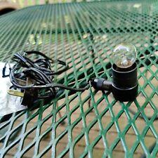 Vintage Microscope Illuminator Light Needs Rewired