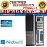 Dell OptiPlex 9010 SFF Intel i5 8GB RAM 500GB HDD Win 10 USB VGA B Grade Desktop