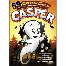 59 Halloween Cartoon Classics Featuring Casper The Friendly Ghost Box / DVD Set