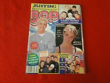 Vintage Teen Pop Rock Magazine Bop Aug. 1999 Backstreet Boys, Britney Spears G1