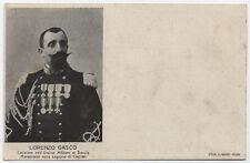 cartolina militare CARABINIERI REALI CAGLIARI MARESCIALLO LORENZO GASCO