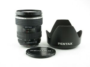 SMC Pentax-FA 645 Zoom 1:4.5 45-85mm Objektiv lens 8 blades + hood