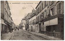 CPA 93 - BAGNOLET (Seine Saint Denis) - 9. La Rue Sadi Carnot - Ed. C. M.