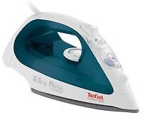 Tefal FV2650 Comfort Glide Anti Scale 2300W Steam Iron in White & Petrol Blue