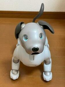 AIBO ERS 1000  Entertainment Robot Dog Ivory White Sony