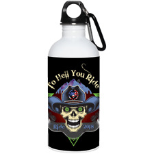 """""""To Hell You Ride"""" USA Biker 20 oz. Stainless Steel Water Bottle"""