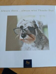 NIQUEA.D Papyrus Greeting Card - Happy Fathers Day Dad Always There