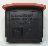 N64 Official OEM Nintendo Brand Expansion Pak Pack *Authentic* *Cleaned/Tested*