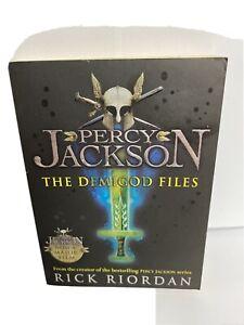 Percy Jackson: the Demigod Files Book By Rick Riordan