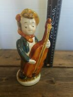 "Vintage Sweet Music ""Hummel Style ""Figurine  Boy with Cello"