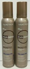 Matrix Shade Memory Rich Brunettes Cool Color Enhancing Foam Conditioner -2 Pack
