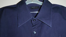 Two AM Collection Mens Dress Shirt Size XXL Dark Purple