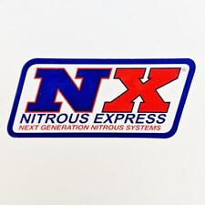 NX - Nitrous Express Systems Decal