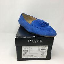 Women's Talbots Slip On Francesca Driving Moccasin, Size 8.5 M - Breton Blue