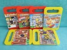 6 x FIREMAN SAM DVDS MOUNTAIN RESCUE OCEAN DANGER DOUBLE ON STAGE SNOW TRICK ABC
