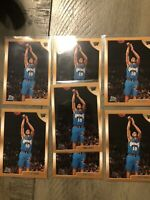 1998-99 Topps Basketball Card #196 Mike Bibby Rookie RC Grizzlies (7) Card Lot