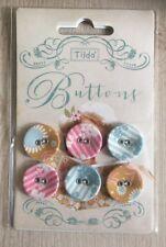 boutons * tilda cercles factices button set DECO Buttons FLEURS *