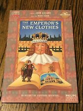 PHILLIPS CD-I THE EMPEROR'S NEW CLOTHES includes Manual