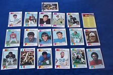 20-1973 TOPPS -HUMPHREY-ADDERLEY-GRAY-CL-RUSHING LDR-SUPER BOWL-SNOW-WEHRLI