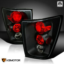 For 2005-2006 Jeep Grand Cherokee Black Brake Tail Lights Lamps Left+Right Pair