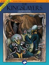 D&D Diecast Games The Kingslayers Dungeons & Dragons 1st Edition Adventure!