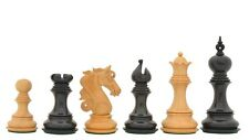 The Admiral Series II Staunton Chess Pieces in Ebony Wood & Box Wood VJ087