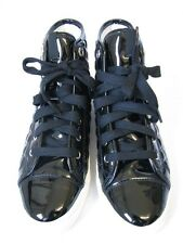 Geox Damenschuhe  Sneaker schwarz  Lack Gr. 37