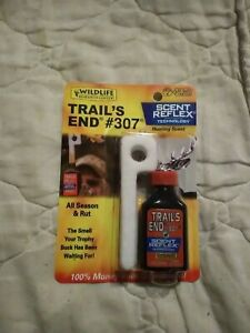 Wildlife Research Center Trails's End #307 Deer Scent 1 Oz. With 2 Scent Wicks