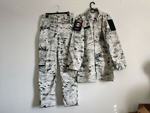 Rare Mexican Army National Guard Uniform Camo