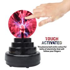 Plasmakugel Magische Blitze Lichteffekt Plasmaball Lampe Leuchte Party Deko Ball
