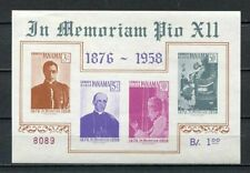 37278) Panama 1959 MNH Pope Pio XII S/S Scott# C212a