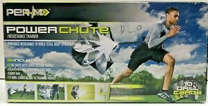 """New Per4M Power Chute Resistance Trainer Track & Field Quick Release Buckle 54"""""""