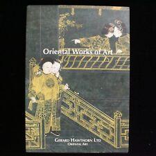 Gerard Hawthorn Oriental Works of Art June 1997 Catalogue Auction