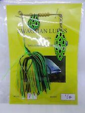 SWAGMAN LURES 1/4oz spinnerbait. UV blades.  Aussie made
