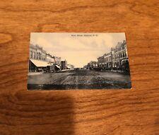 Original Vintage/Antique Photo Post Card - Madison, South Dakota - Main Street